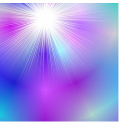 Colorful abstract dynamic gradient blur ray burst vector