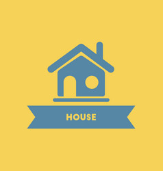 House building home icon vector