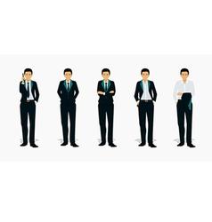 Man suit vector image