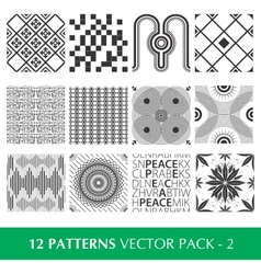 Pattern Pack 2 vector