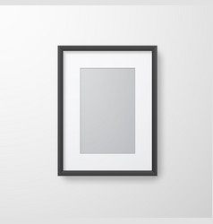 photo frame for picture poster or picture vector image