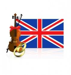 royal wedding in England vector image