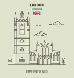 st margarets church in london vector image