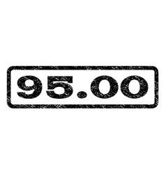 9500 watermark stamp vector image vector image