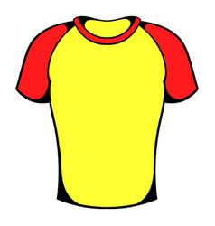 sport shirt icon icon cartoon vector image