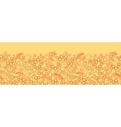 Sweet berries horizontal seamless pattern vector image vector image