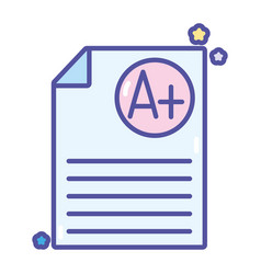 Back to school assessment knowledge vector