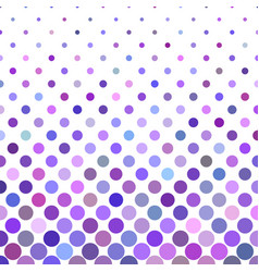 Color dot pattern background - geometric graphic vector