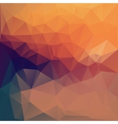 colored triangle abstract vector image