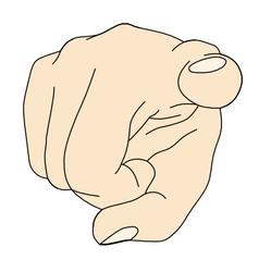 Fingerpoint vector