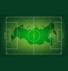 Football banner sports 2018 vector