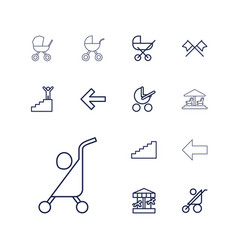 Go icons vector