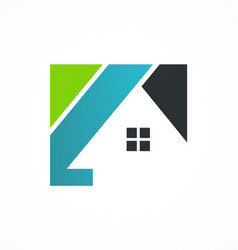 Home realty business logo vector