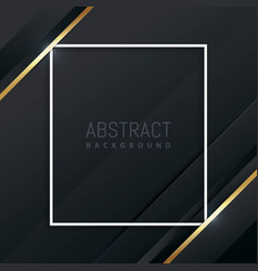 luxury and elegant geometric background vector image