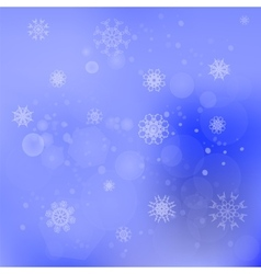 Snow Flakes Background vector image vector image