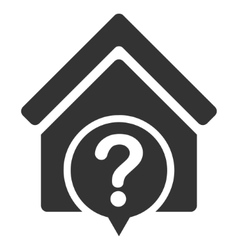 Realty state flat icon vector