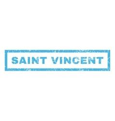 Saint vincent rubber stamp vector