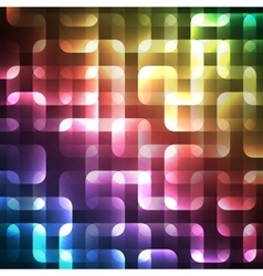 Abstract bright spectrum wallpaper vector image vector image