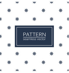 Marine minimalistic pattern - seamless vector