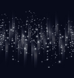 Abstract background with glowing rays intersecting vector