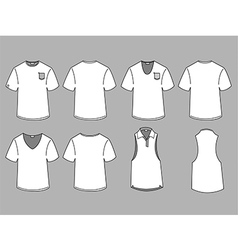 Mans t-shirt design template vector image