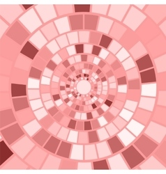 Pink Mosaic Background vector