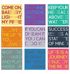 Quote set vector