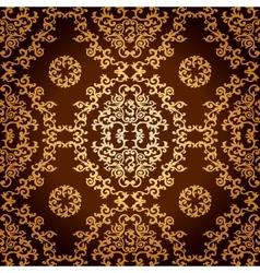 Seamless Geometric Pattern in Islamic Style vector image