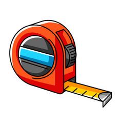 tape measure repair working tool vector image