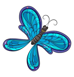 A colorful butterfly vector image vector image