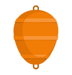 bobber icon flat style vector image