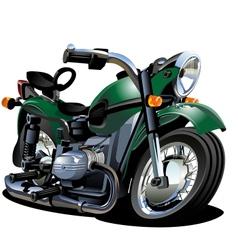 Cartoon Motorcycle vector image vector image