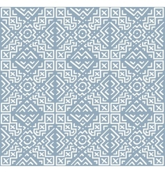 Hand Drawn Ethnic Seamless Pattern in Tribal Style vector image vector image