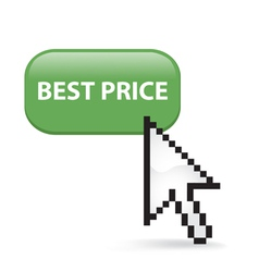 Best Price Button Click vector image