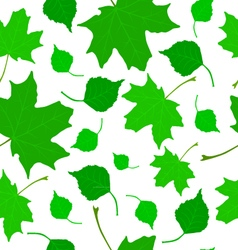 Texture of leaves vector image