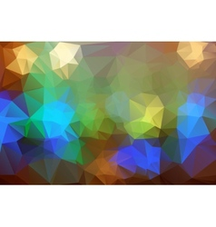 Abstract colorful triangle background for design vector image