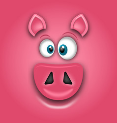 Chinese zodiac sign year of pig happy chinese new vector