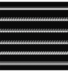 Different Metalic Bars vector