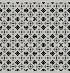 Floral seamless tiles pattern vector