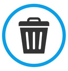 Rubbish Basket Icon vector