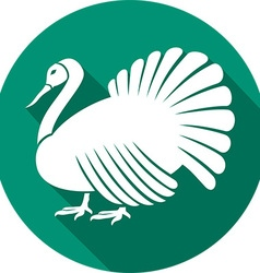 Turkey Icon vector image