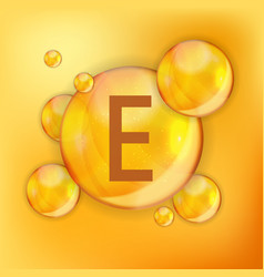 Vitamin e icon antioxidant vector