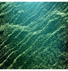 Wave Grid Background Ripple Grid 3D Technology vector