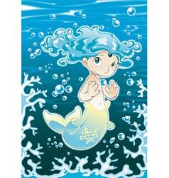 Baby Siren vector