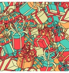 Background Gifts vector image