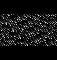 Dark blue cosmic rain glowing lines vector