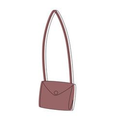 Handbag icon image vector