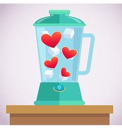 Heart Mixer vector