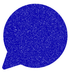 Hint balloon icon grunge watermark vector