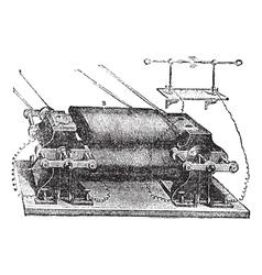 Ladds Machine vintage engraved vector image